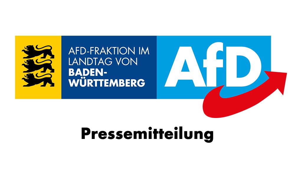 Pressemitteilung AfD-Landtagsfraktion