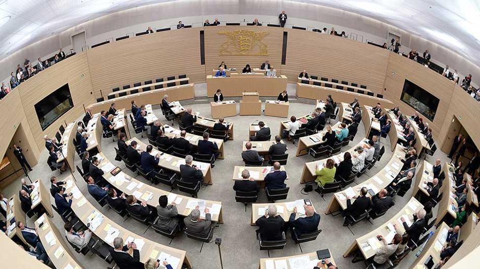 Landtag von Baden-Württemberg am 11.05.2016