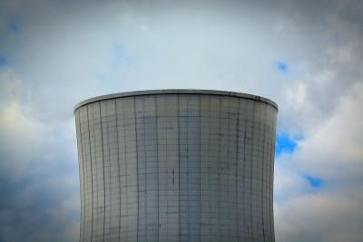 Kühlturm eines Kohlekraftwerkes