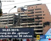 Heute vor 20 Jahren: die grünen Kriegsverbrechen beginnen