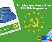 Auszüge aus dem grünen EUdSSR-Programm