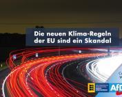 Die neuen Klima-Regeln der EU sind ein Skandal