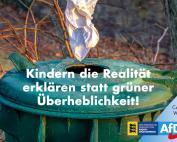 Carola Wolle: Kindern die Realität erklären statt grüner Überheblichkeit!