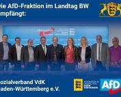 AfD-Abgeordnete tauschen sich mit dem Sozialverband VdK aus