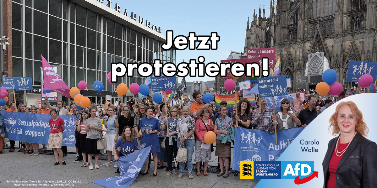 Öbszönes LSBT-Theater für Schulklassen stoppen!