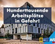 Niedergang der deutschen Wirtschaft durch grüne Ideologien – hunderttausende Arbeitsplätze in Gefahr