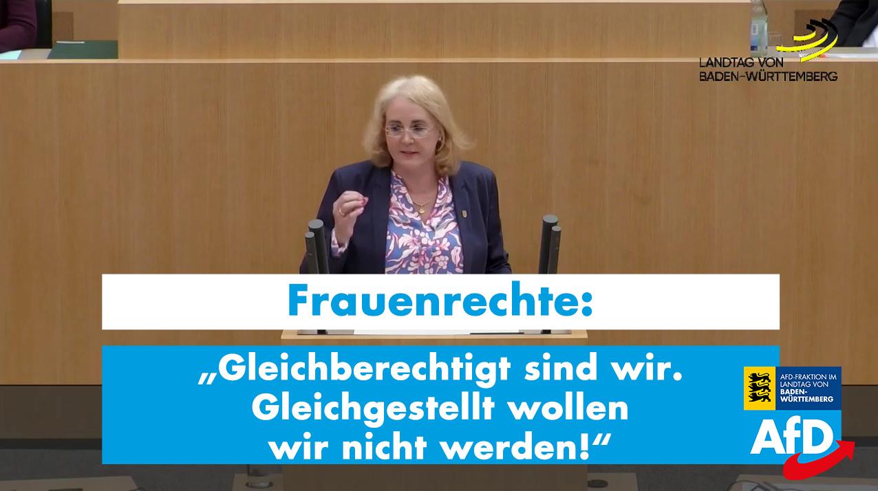 Frauenrechte: Gleichberechtigt sind wir – Gleichgestellt wollen wir nicht werden!