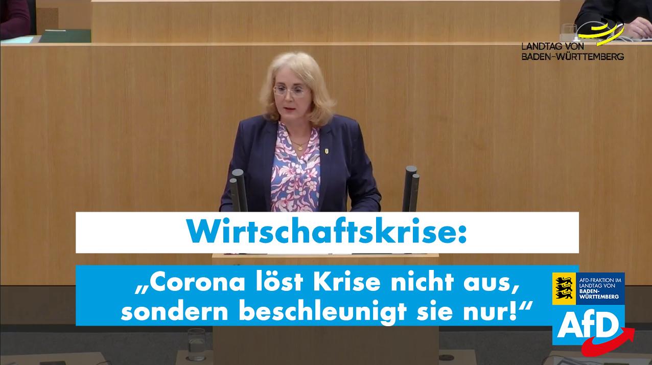 Carola Wolle: Corona löst Krise nicht aus, sondern beschleunigt sie lediglich!