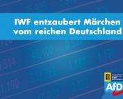 Carola Wolle: IWF entzaubert Märchen vom reichen Deutschland