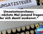 """Umsatzsteuerchaos: """"Das nächste Mal sollten Angela Merkel und Olaf Scholz jemand fragen, der sich damit auskennt."""""""