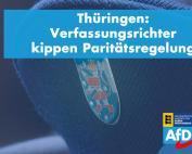 Thüringer Quoten-Urteil ist gesellschaftlich richtungsweisend