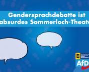 Carola Wolle: Gendersprachdebatte ist absurdes Sommerloch-Theater