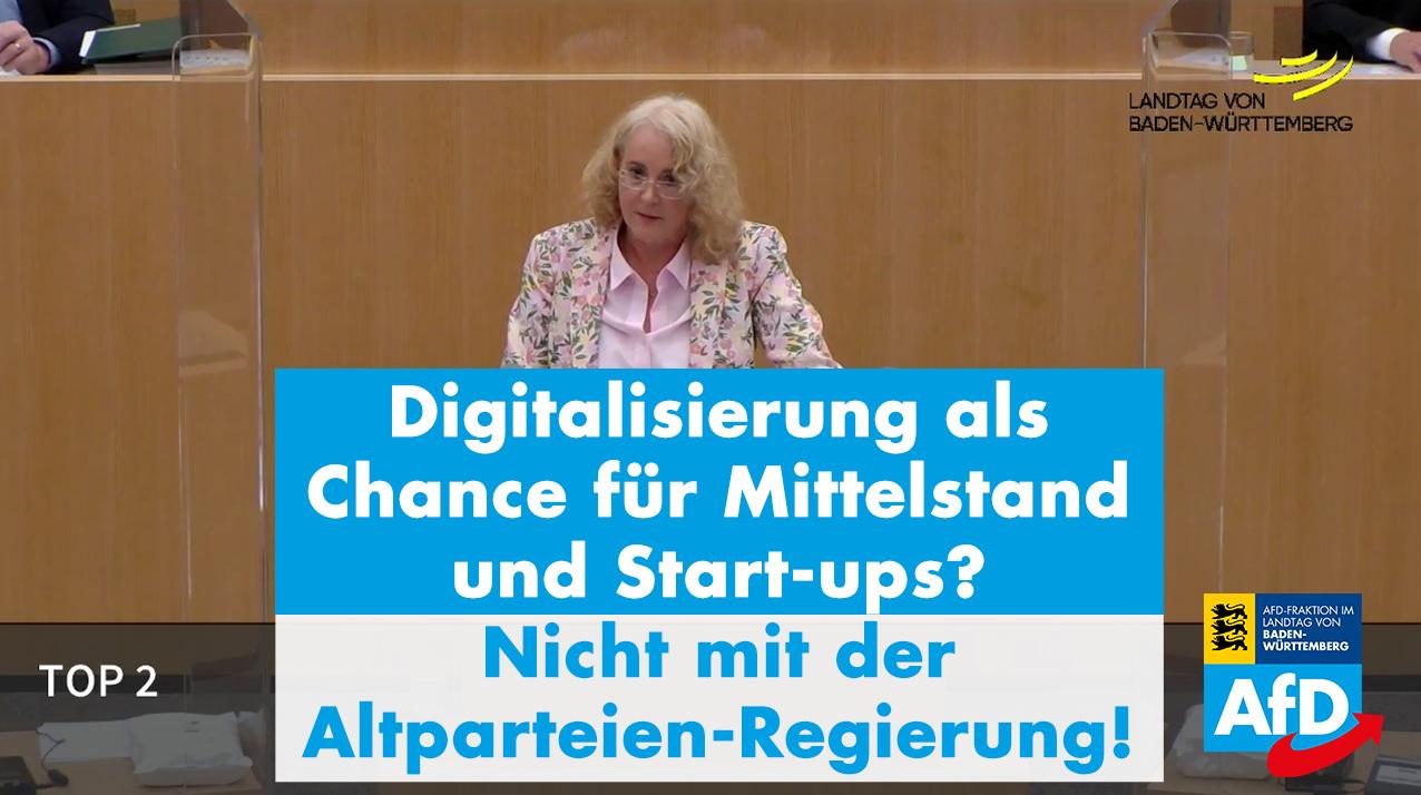 Digitalisierung als Chance für Mittelstand und Start-ups