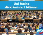 Carola Wolle: Uni Mainz diskriminiert Männer