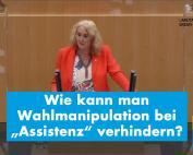 """Verhinderung von Wahlmanipulation bei """"Assistenz"""""""