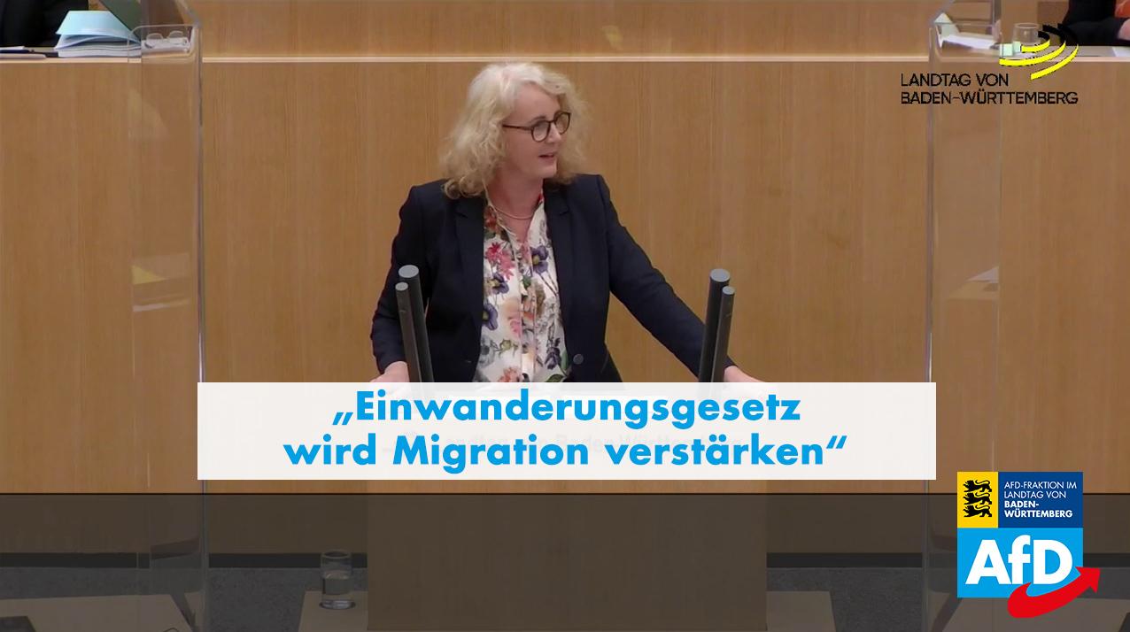 Carola Wolle: Einwanderungsgesetz wird Migration verstärken