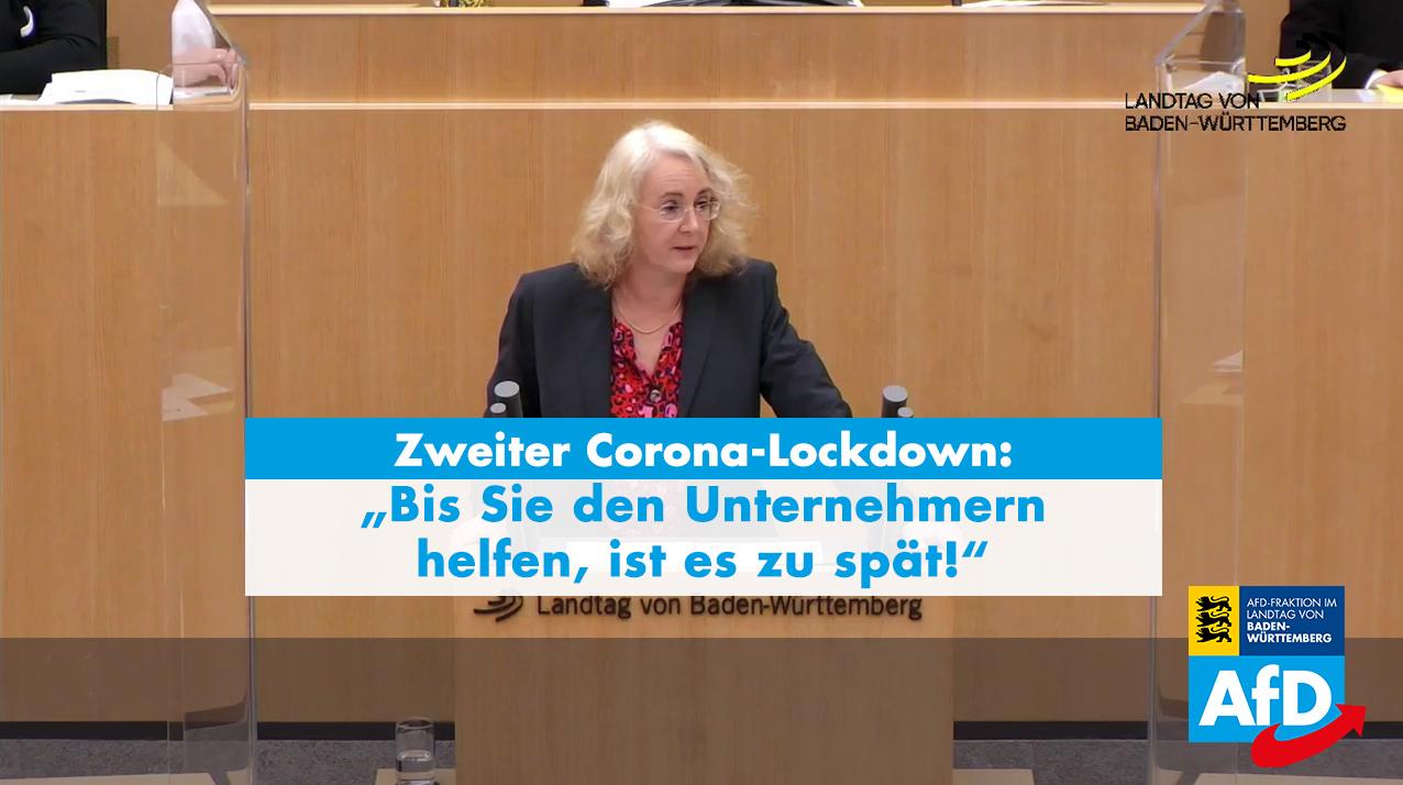 Landtagsrede: Carola Wolle zum Erlass über infektionsschützende Maßnahmen