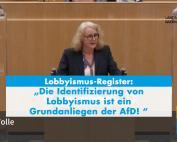 AfD-Landtagsfraktion fordert Lobbyismus-Register!