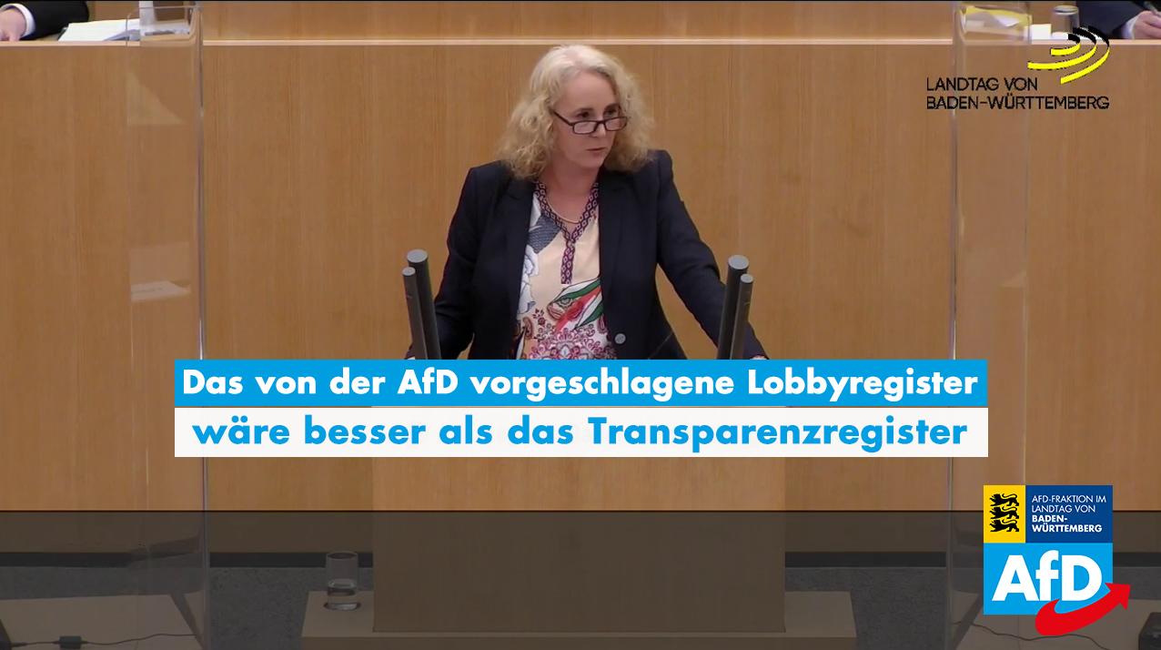 Carola Wolle zum Transparenzregister: gut gewollt ist nicht gut gemacht