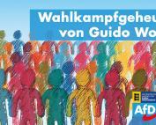 Carola Wolle: Wahlkampfgeheuchel von Guido Wolf
